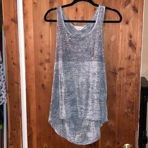 Tops - Vintage Havana Muscle T-Shirt Gray Heather Size M
